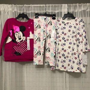 NWT Disney Minnie Mouse Lot
